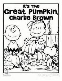 200x260 Charlie Brown Thanksgiving Coloring Pages