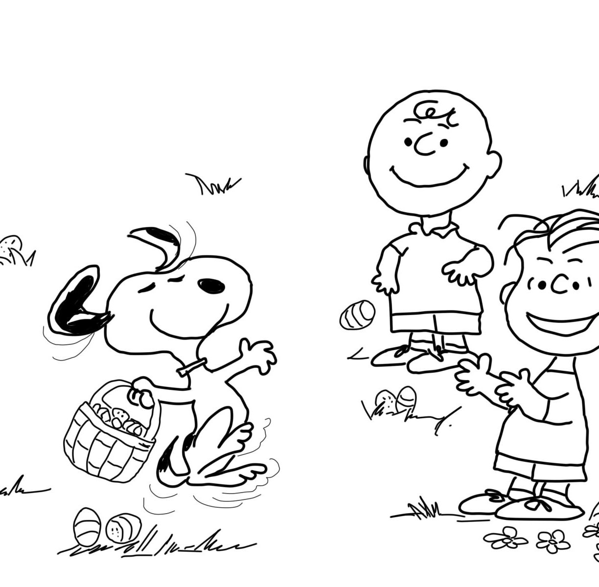 1224x1200 Clever Charlie Brownng Pages Halloween Printable Free Christmas