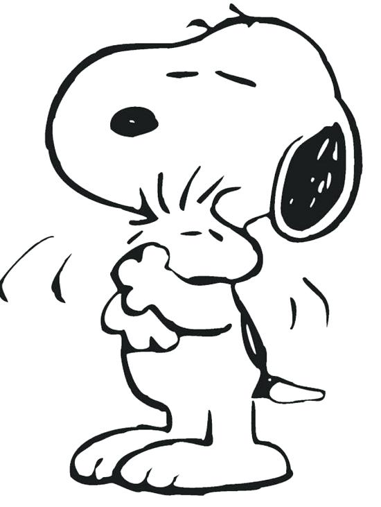 550x731 Snoopy Valentine Coloring Pages Charlie Brown Valentine Coloring
