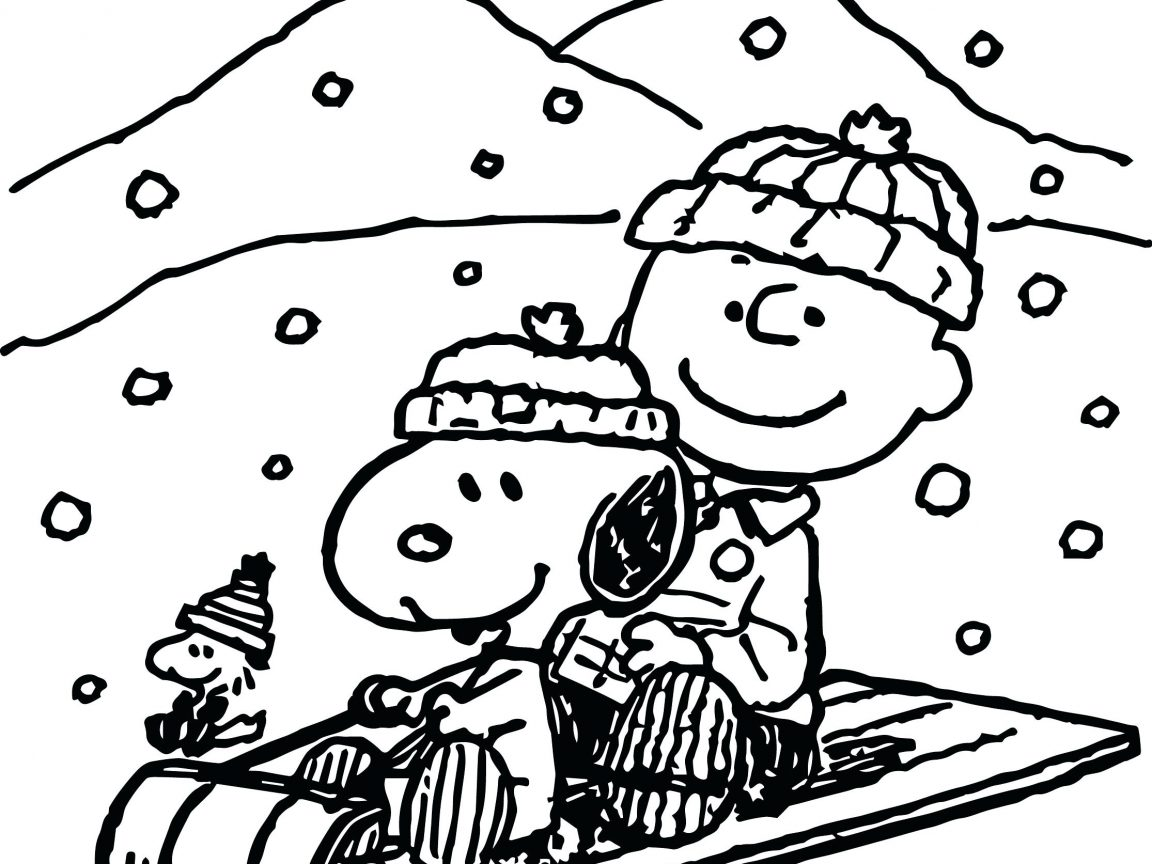 1152x864 Astonishing Charlie Brown Thanksgiving Coloring Pages Free