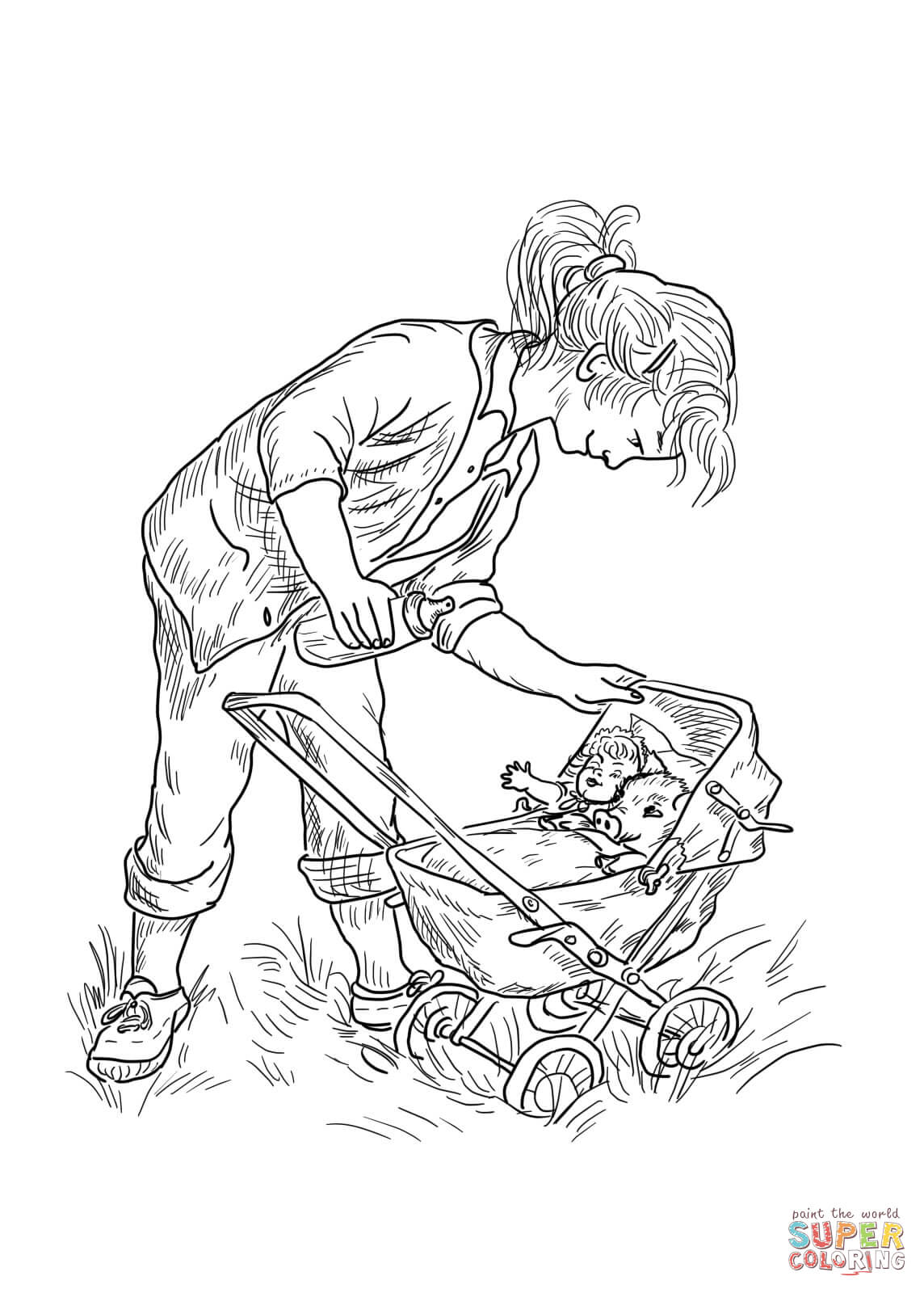 1144x1600 Charlotte Web Coloring Page