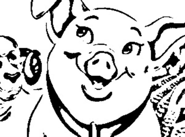 640x474 Charlottes Piggy Coloring Sheets