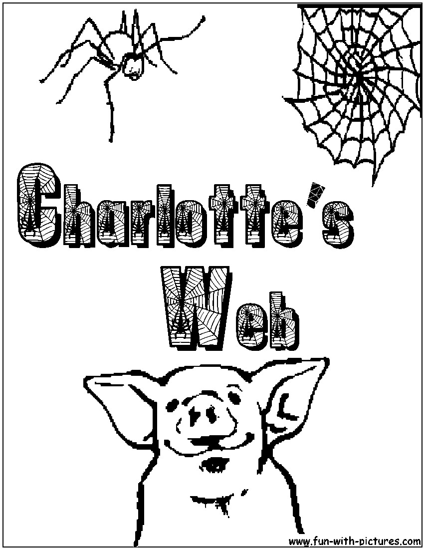 850x1100 Charlotte Coloring Pages