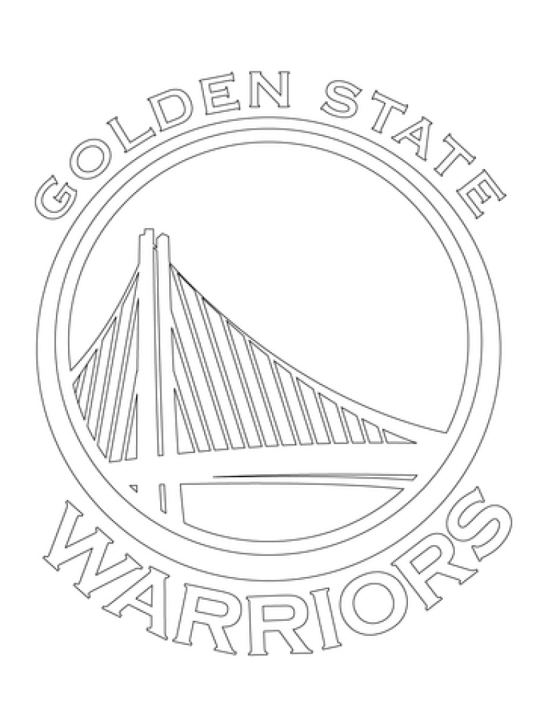 768x1024 Golden State Warriors Trophy Coloring Sheet Kevin Durant At Pages