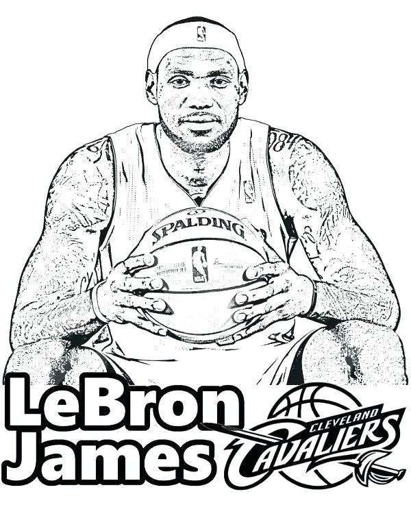 600x740 Nba Coloring Coloring Book Packed With Tags Coloring Page Free