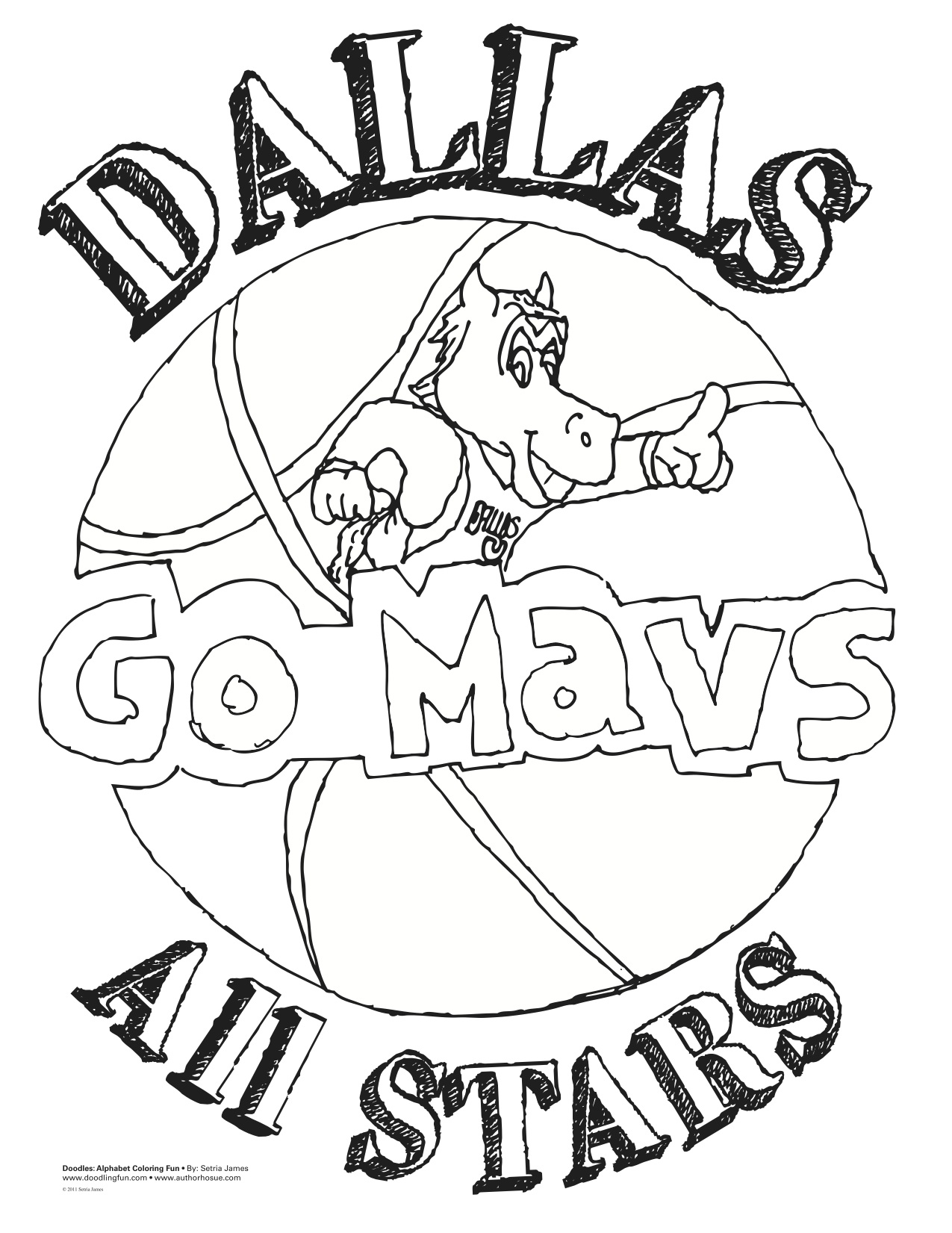 1275x1651 Nba Team Coloring Pages Download And Print For Free
