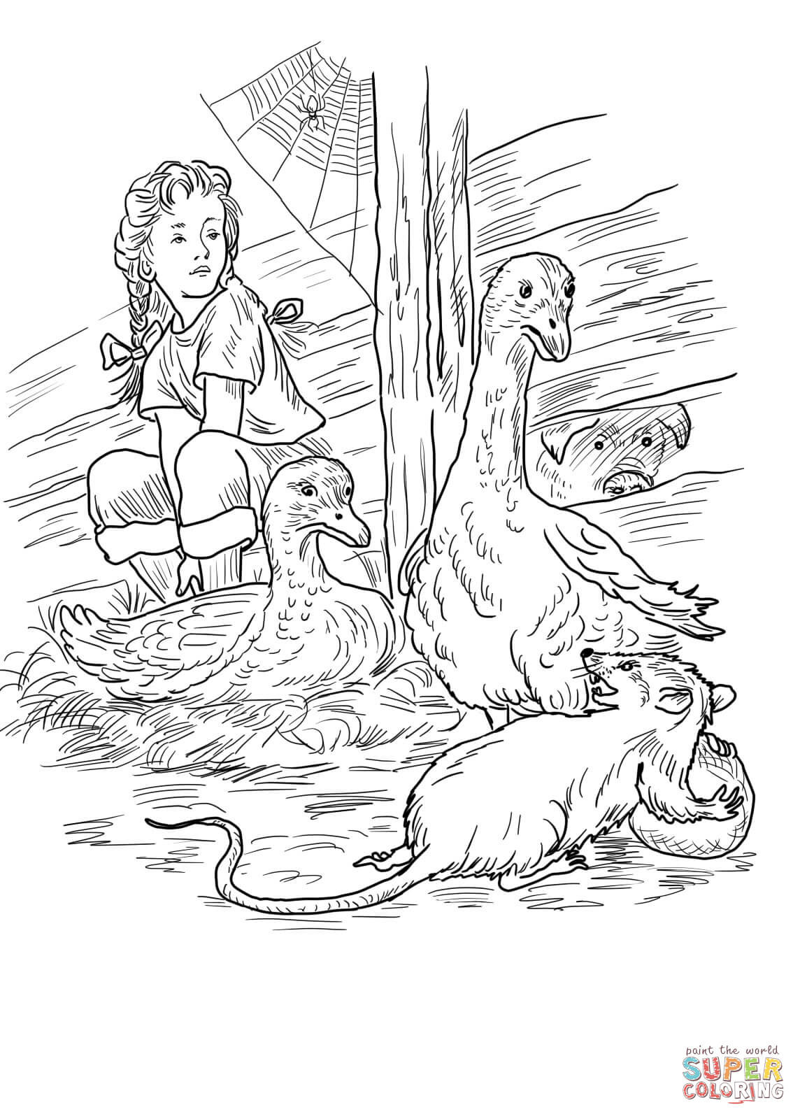 1144x1600 Charlottes Web Coloring Pages Free Printable Colouring