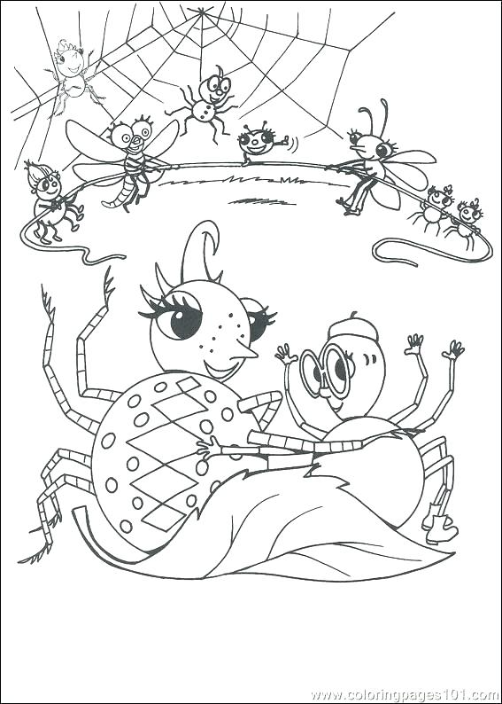 567x794 Charlottes Web Coloring Pages Spider Coloring Book Spider Coloring