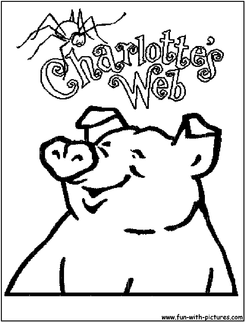 800x1050 Charlotte Web Coloring Page Get Bubbles