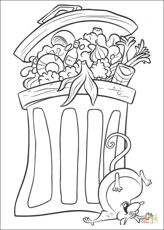 567x794 Charlottes Web Coloring Page