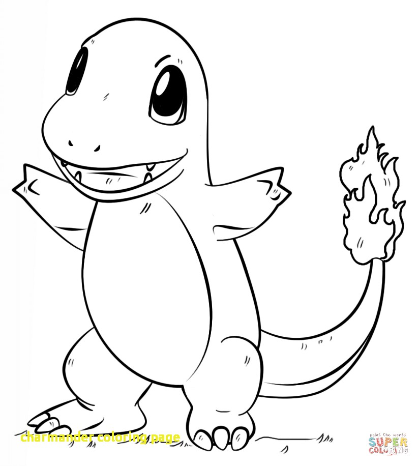 The Best Free Charmander Coloring Page Images Download From 236