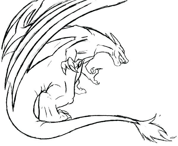 600x490 Charmander Coloring Pages Flying Attack Coloring Page Charmander