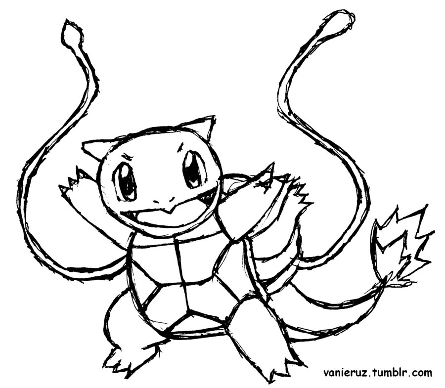 900x785 Squirtle Coloring Book Pokemon Charmander And Pages