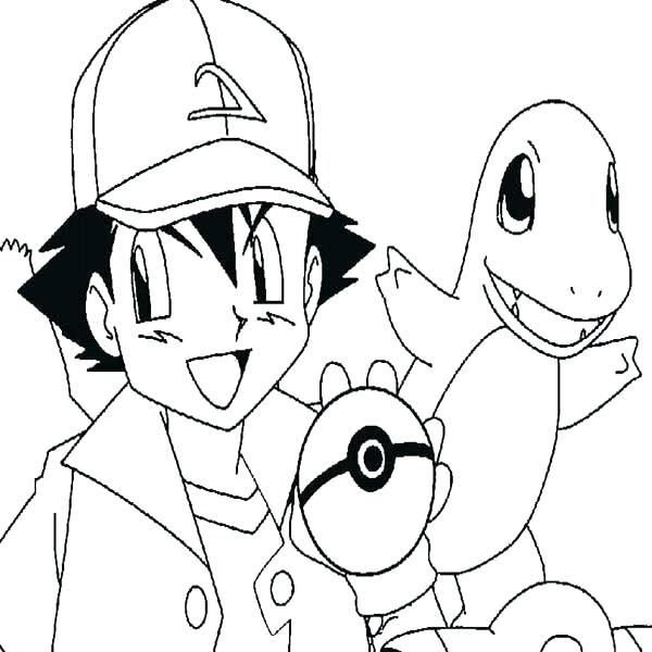 Charmander Printable Coloring Pages