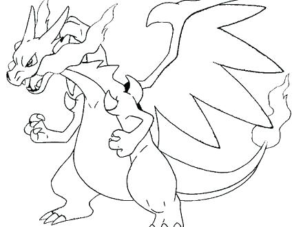 440x330 Charmander Coloring Pages Charmander Printable Coloring Pages