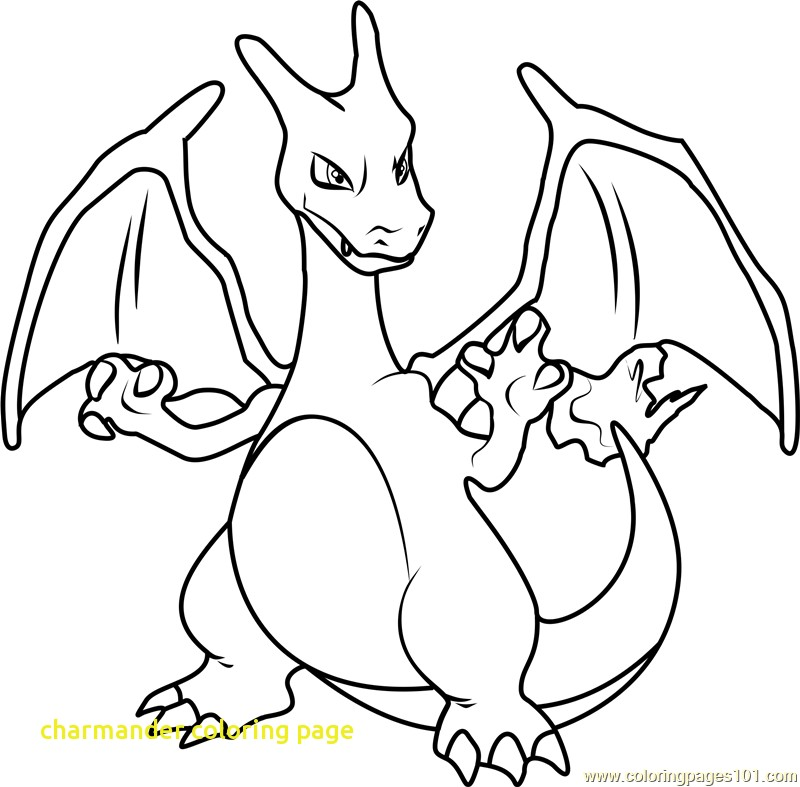 800x787 Charmander Coloring Page With Charizard Coloring Pages Best