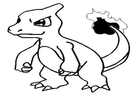 476x333 Charmeleon Coloring Sheets Page Image Clipart Images