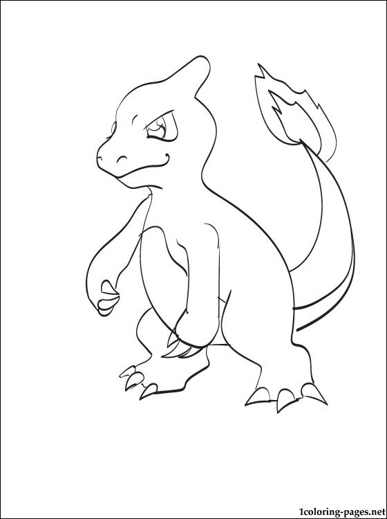 560x750 Free Coloring Page Pokemon Charmeleon Printable Coloring Pages