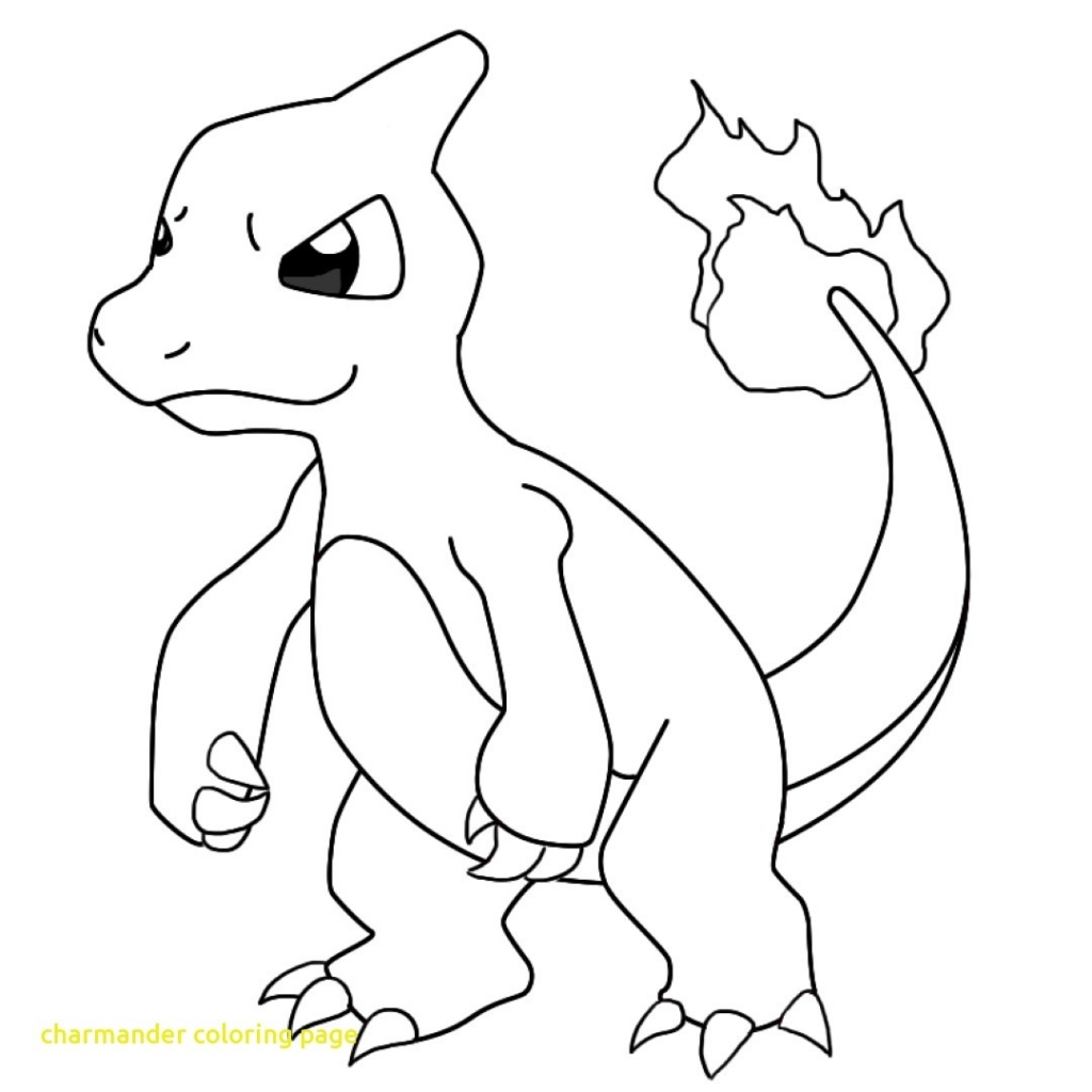 1024x1024 Charmander Coloring Page With Charmander Coloring Pages Charmeleon