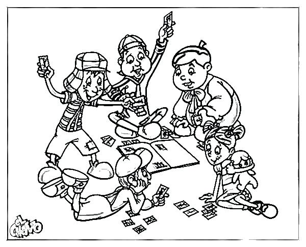 Chavo Del Ocho Coloring Pages At Getdrawings Com Free For