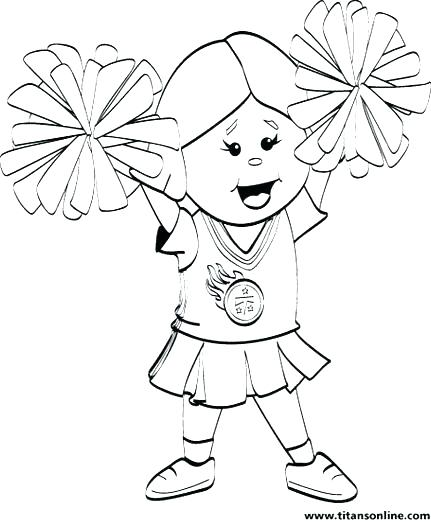 431x523 Cheerleading Coloring Pages Coloring Pages To Print Cheerleading