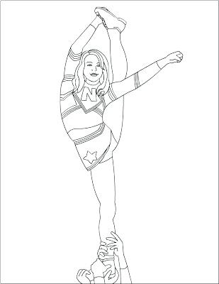 309x400 Cheerleading Coloring Pages Free Coloring Pages Coloring Pages