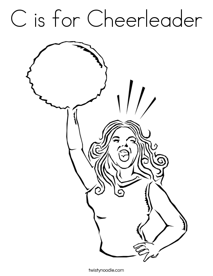 685x886 Cheerleader Coloring Pages