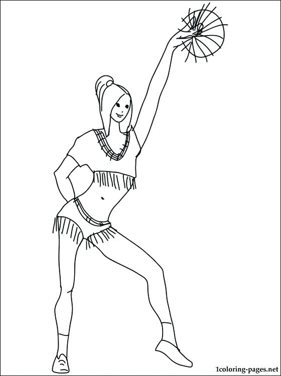 560x750 Cheerleading Coloring Pages Coloring Page Cheerleading Megaphone