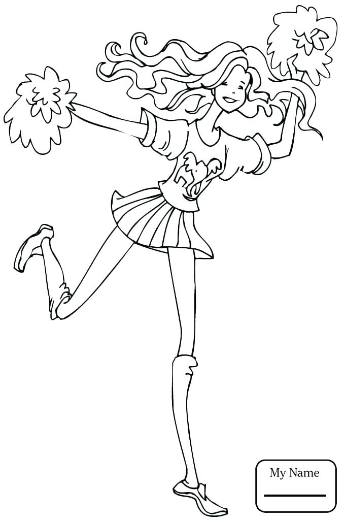 678x1028 Cheerleaders Coloring Pages Cheer Coloring Pages A Democrat