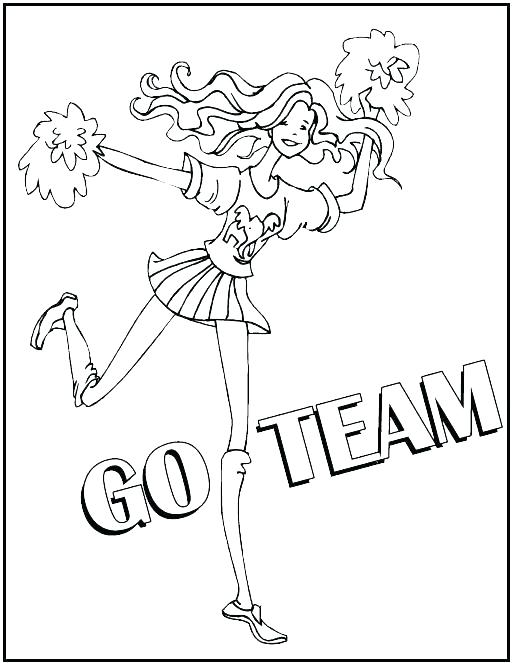 513x663 Cheerleading Coloring Pages Cheerleading Stunt Coloring
