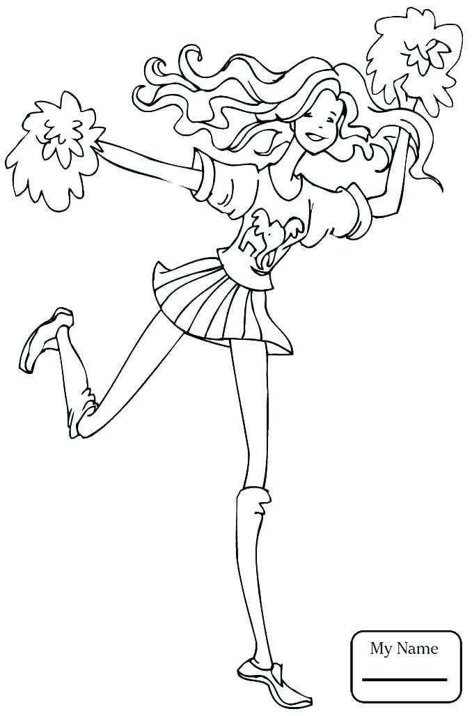 678x1028 Cheer Coloring Pages