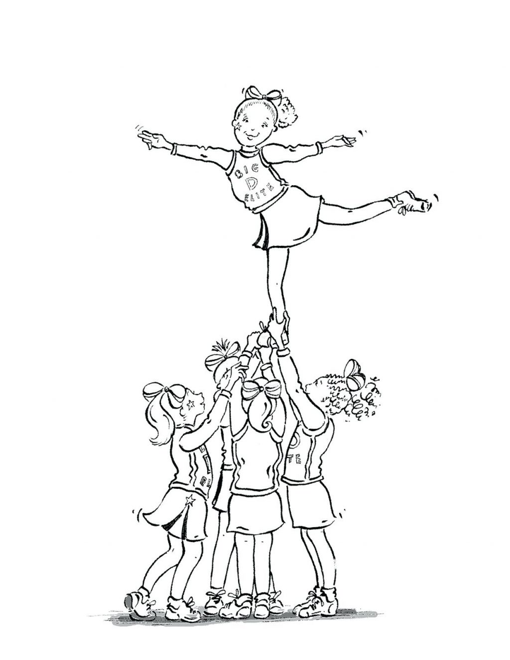 1024x1326 Coloring Page Cheer Coloring Pages Up Cheer Coloring Pages