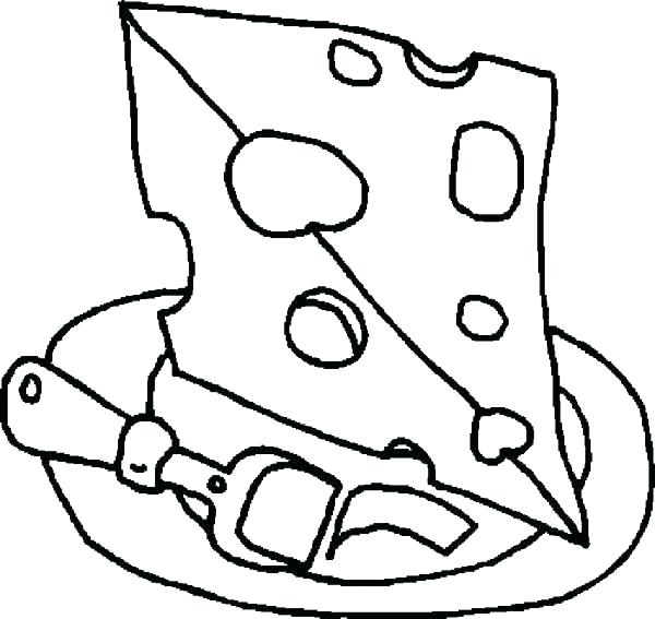 600x567 Cheese Coloring Pages Cheese Coloring Page Spectacular K E Cheese