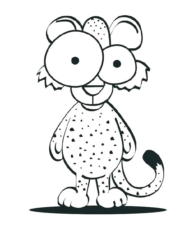 600x750 Cheetah Coloring Pages Coloring Pages Of Cheetahs Coloring Pages