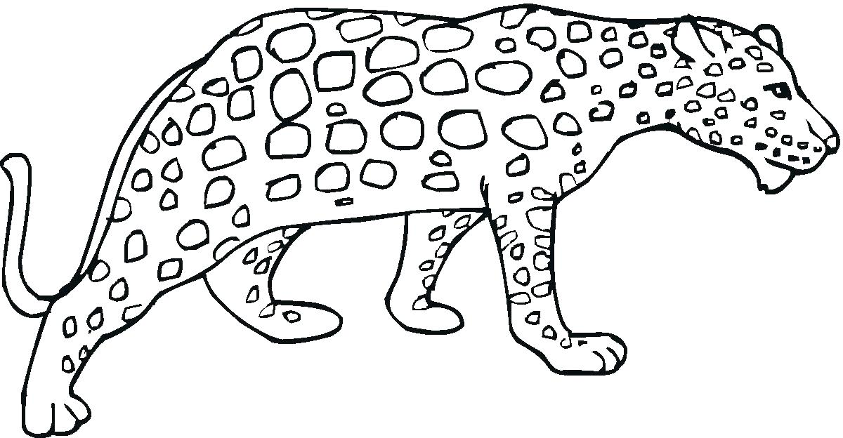 1200x624 Printable Cheetah Coloring Pages For Kids Coloring Pages Cheetah