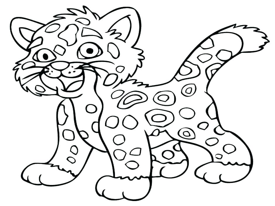 940x705 Animal Print Coloring Pages Coloring Pages Cheetah Coloring Pages