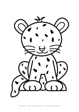 320x452 Coloring Pages Cheetah Cheetah Coloring Pages Printable Cheetah