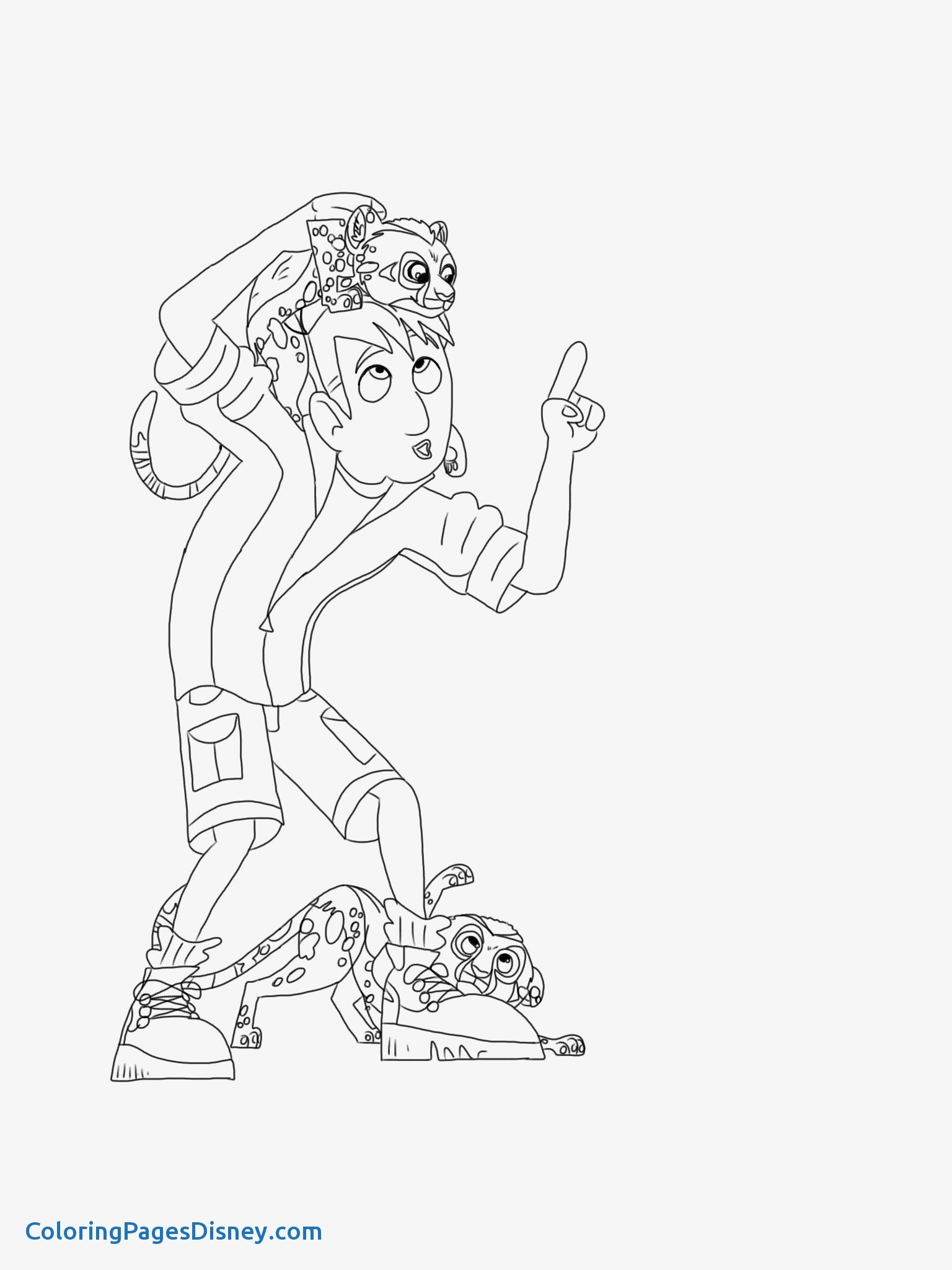 1536x2048 Cheetah Coloring Pages Fresh Awesome Wild Kratts Coloring Page