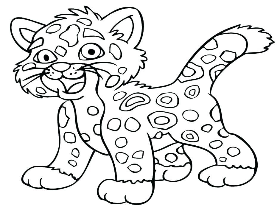 940x705 Cheetah Print Coloring Pages