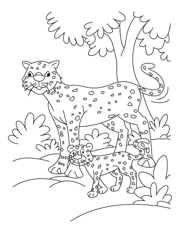612x792 Coloring Pages Of Cheetahs Cheetah Girls Coloring Pages Coloring