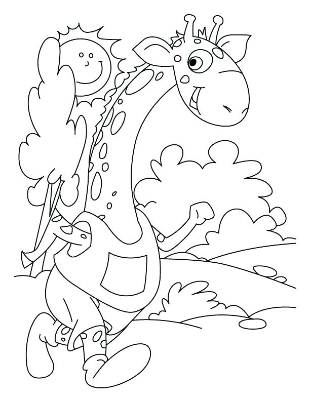 612x792 Girls Sprint Colouring Page Cheetah Running Coloring Pages
