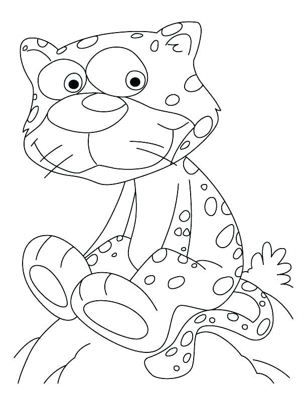612x792 Running Coloring Pages Cheetah Coloring Page Cheetah Coloring