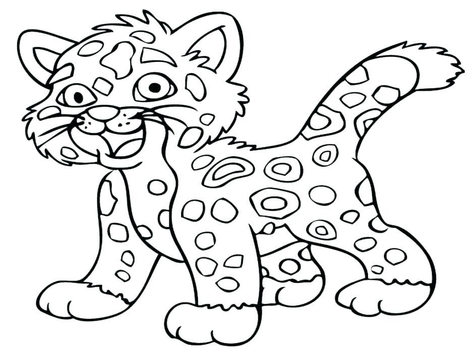 Cheetah Running Coloring Pages At Getdrawings Free Download