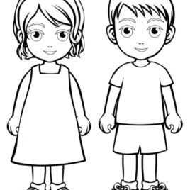 268x268 Coloring Pages Chef Hat Kids Drawing And Coloring Pages