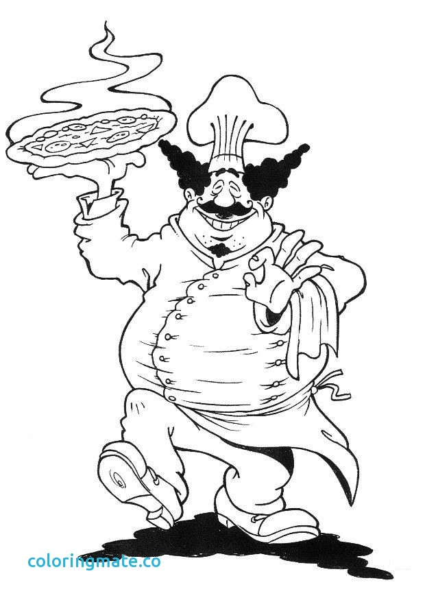 620x875 Chef Coloring Page Awesome Free Coloring Pages Chef Hat