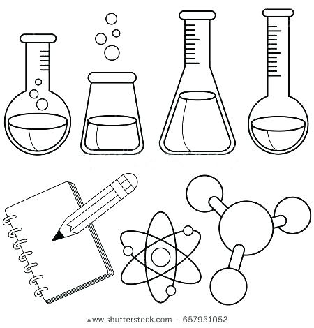 Chemistry Coloring Pages At Getdrawings Com Free For Personal Use