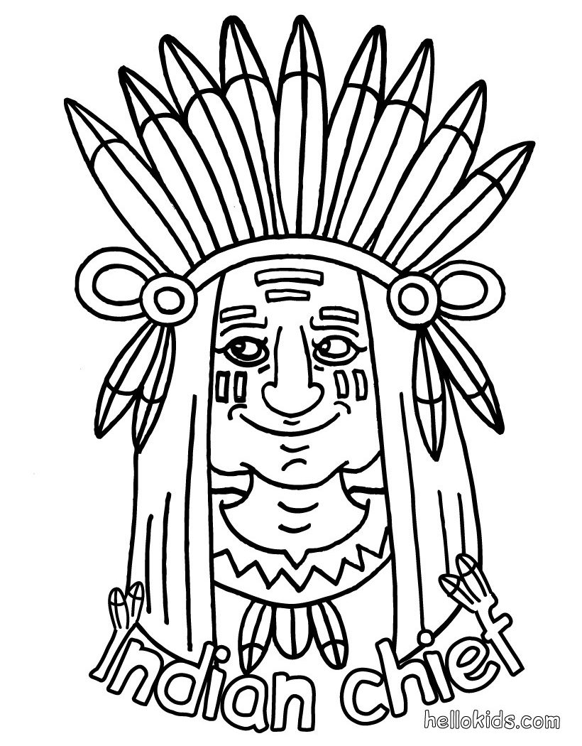 820x1050 Extraordinary Indian Coloring Pages Image Free Printable Adult