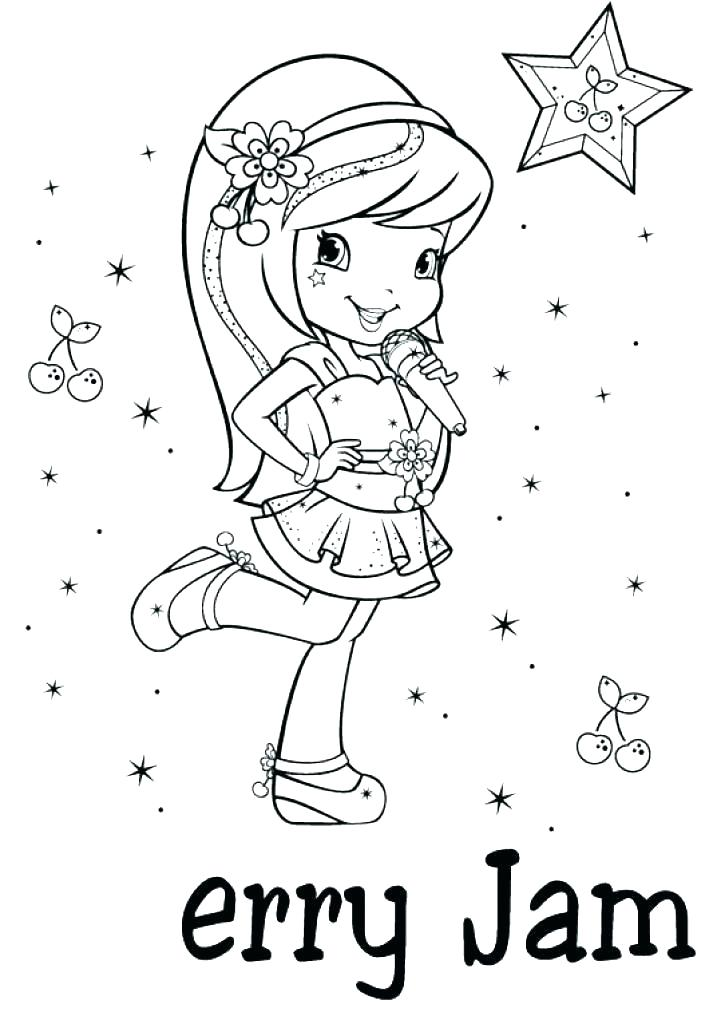 721x1024 Cherry Jam Coloring Pages Cherry Jam Coloring Pages Strawberry