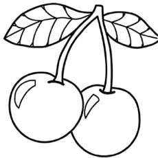 230x230 Top Free Printable Cherry Coloring Pages Online Cherries