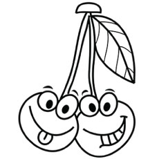 230x230 Top Free Printable Cherry Coloring Pages Online